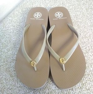 Tory Burch Shoes - Tory Burch Wedge Thong Sandals